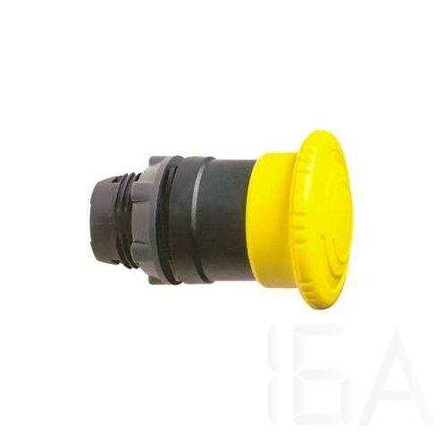 Schneider Kerek vészgombfej, sárga, ZB5AS55