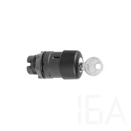 Schneider Kulcsos vészgombfej, fekete, ZB5AS72