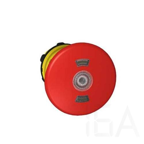 Schneider Kulcsos vészgombfej, gomba, piros, ZB5AT8643M