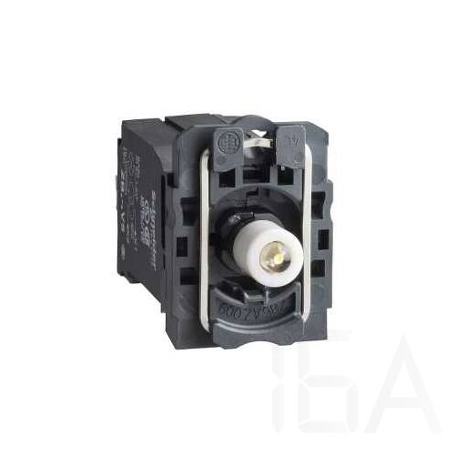Schneider Jelzőlámpa aljzat+transzformátor+LED, narancssárga, 400V, ZB5AV5D5