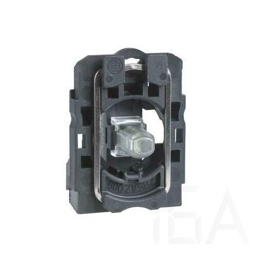 Schneider LED-es jelzőlámpa aljzat narancssárga, 24V, ZB5AVB5