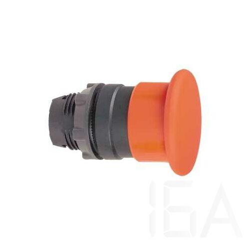 Schneider Világító nyomógombfej, piros, jelöletlen, ZB5AW743