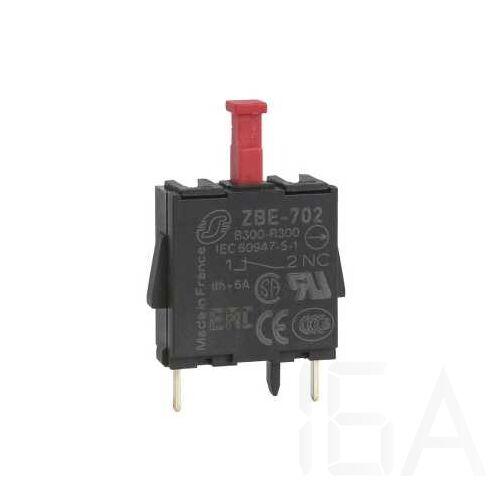 Schneider Érintkezőblokk nyomtatott áramkörhöz 1NC, ZBE702