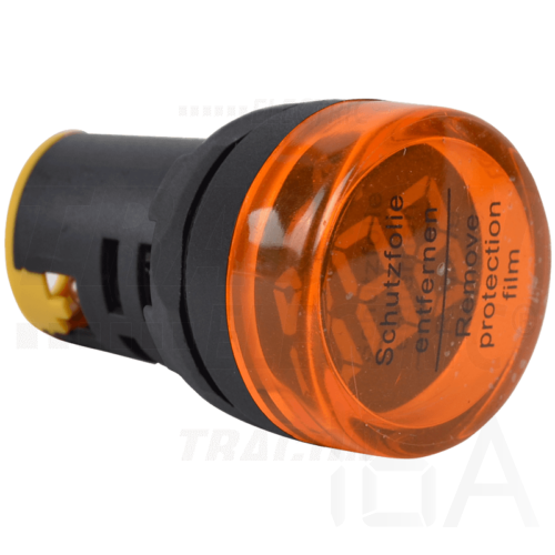 Tracon Feszültségmérő, LED jelzőfény, sárga, NYG3-VY