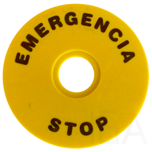 Tracon EMERGENCY STOP lap, NYG3-ES90