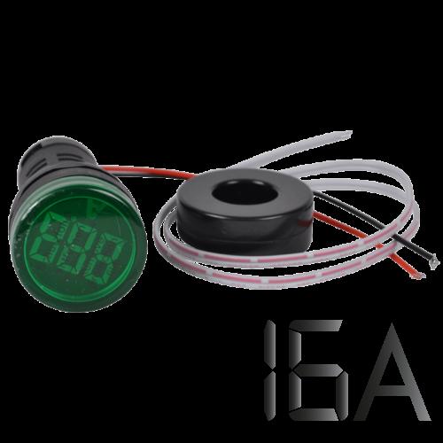 Tracon Árammérő, LED jelzőfény, zöld, NYG3-AG