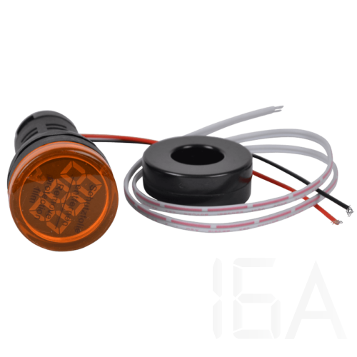 Tracon Árammérő, LED jelzőfény, sárga, NYG3-AY