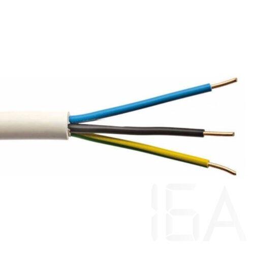 Mbcu 3x1,5mm2 NYM-J 300/500V  Műanyag tömlővezeték több eres merev réz vezetővel 100m!