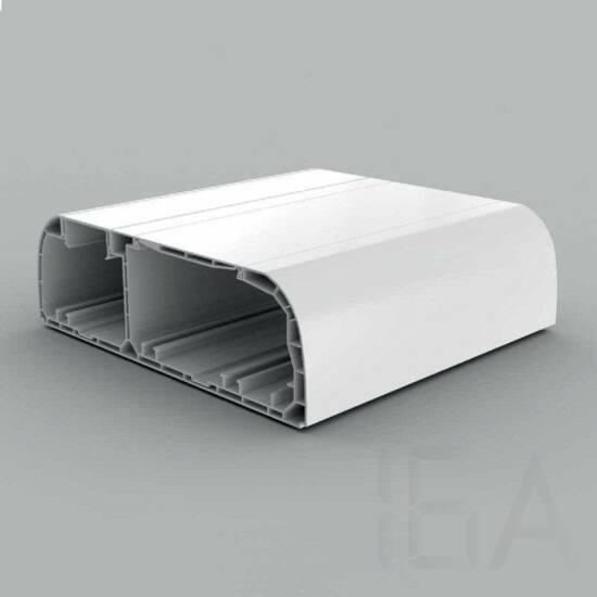 Kopos-Kolin, PK 210X70 D HD, kábelcsatorna, Kopos-Kolin 210x70mm-es műanyag PARAPET csatorna, fehér [PK 210X70 D HD],