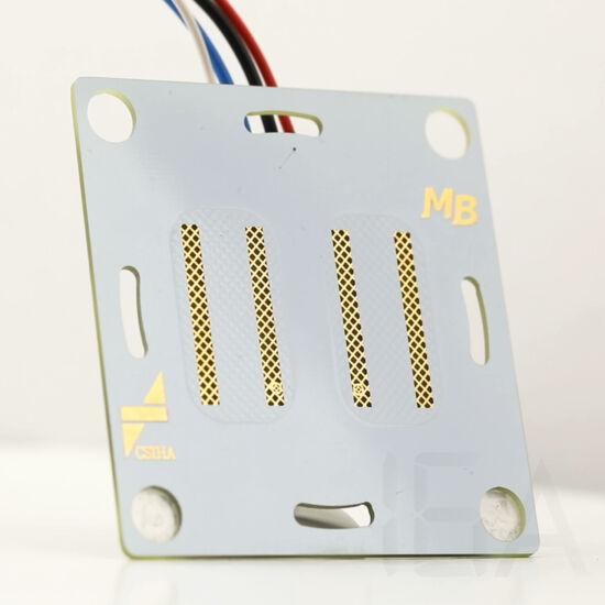 Material Button láthatatlan kapcsoló - dupla érintőgomb [CSMB-DB-01]
