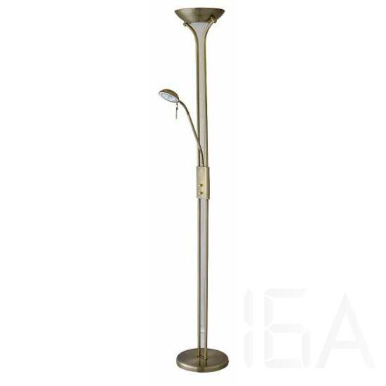 Rábalux, 4076, lámpatest, Rábalux 4076 Beta állólámpa, olvasókarral, halogén, fényerőszabályzóval, H178cm,