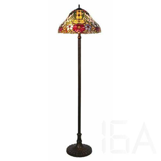 Rábalux, 8088, lámpatest, Rábalux 8088 Mirella, Tiffany állólámpa, E27 2x60W,