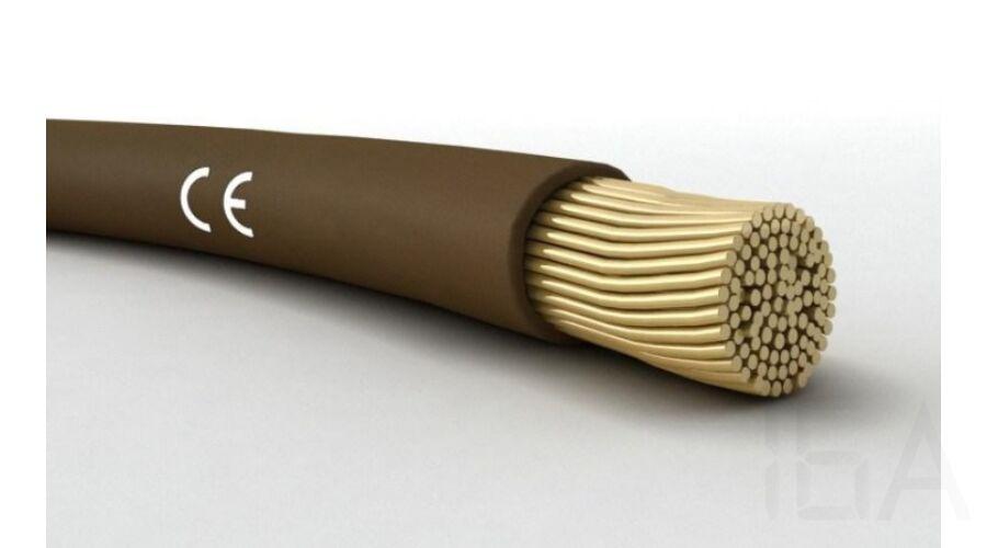 mcskh 0 5mm2 barna h05v k 300 500v egy eres r z vezet k sodrott ramvezet vel k bel vezet k. Black Bedroom Furniture Sets. Home Design Ideas